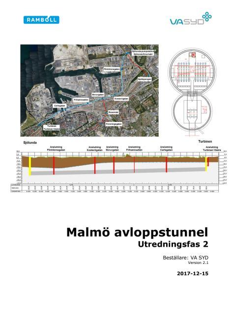 Del 1. Fördjupad utredning av en tunnel som ett alternativ (Ramböll)