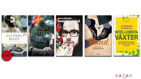Vårens böcker från Bazar Förlag - smarta växter, pianon och napolitaner!