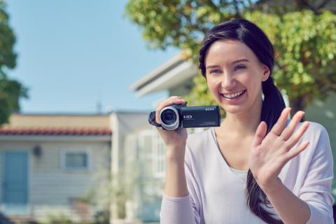 Guarde os momentos mais preciosos da vida em 4K, com a nova gama Handycam® da Sony