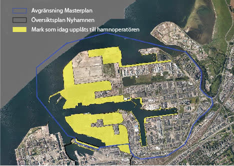 Malmö City boosts investment in Malmö port with 30 year plan