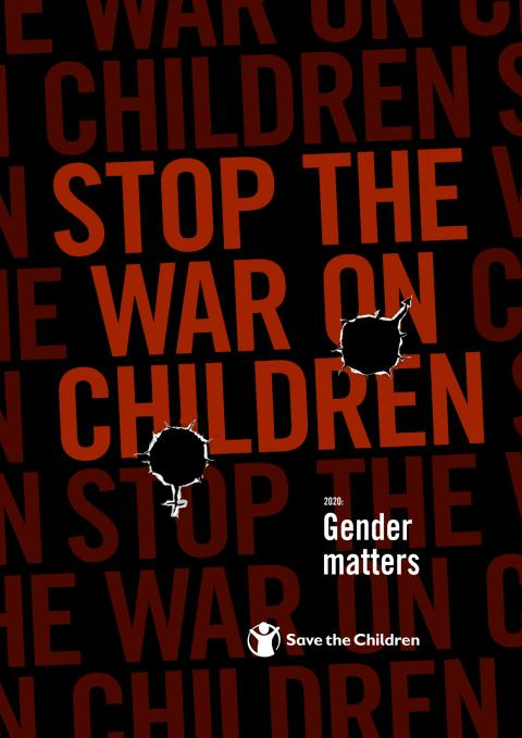 Rapport: Stop the war on children- gender matters