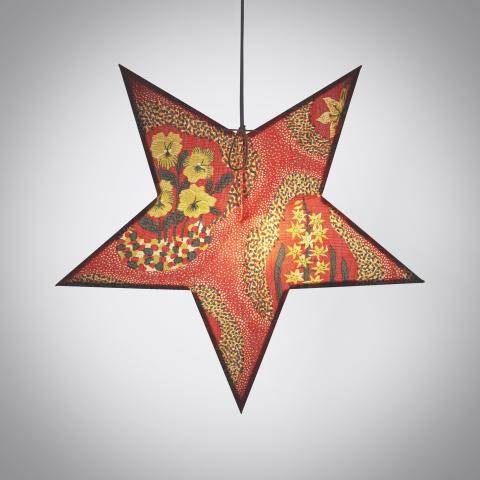Svenskt_Tenn_Lamp_Advent_Star_Fabric_Catleya_2