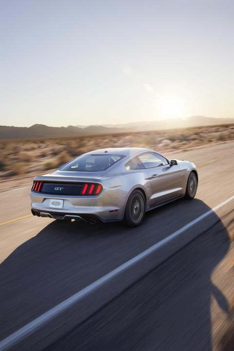 Nye Ford Mustang skal ogsp selgs i Europa
