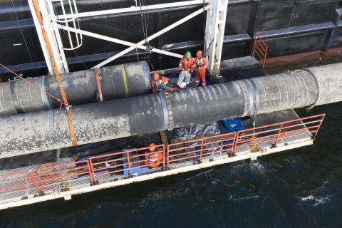 Permit for operation of the Nord Stream 2 project is granted by the Danish Energy Agency