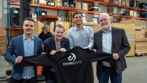 Logistikföretaget Envirozone växer till 100 anställda – köper bemanningsföretag