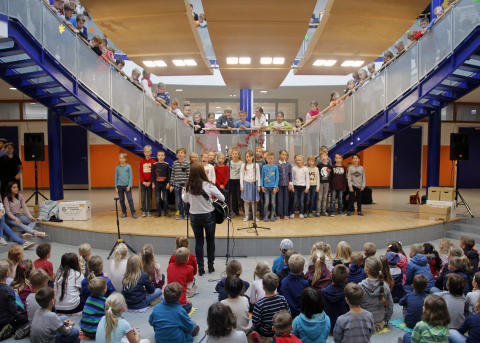 Fertigstellung Schule Schwanebeck