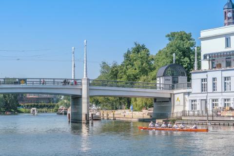 Jahrtausendbruecke Brandenburg an der Havel