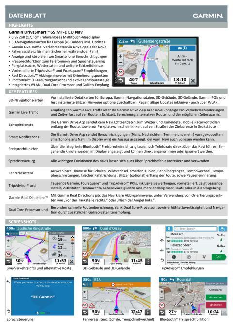 Datenblatt DriveSmart65 MT-D EU