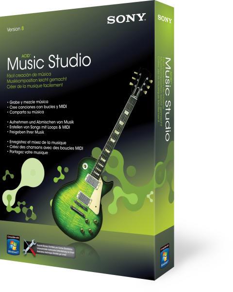 ACID Music Studio 8 von Sony