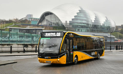 Better buses introduced to help play an important part in the economic and environmental recovery of Newcastle's city and Quayside