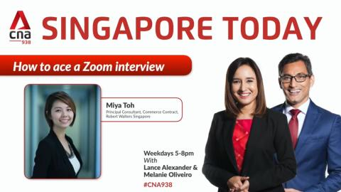 Miya Toh practices what she preaches in Zoom interview about Zoom interviews