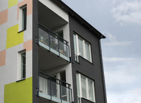 Fasadsystem Iso-Plus