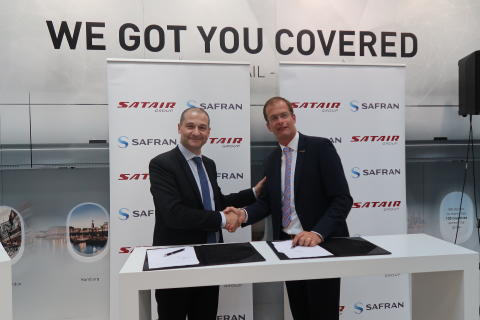 Satair Group signing Safran