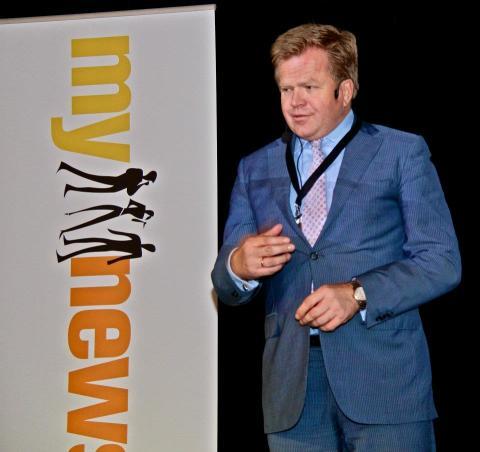 Gunnar Bjørkavåg på Mynewsday 2012