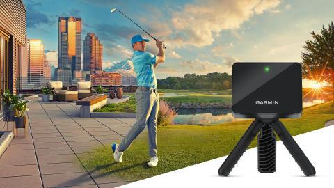 Präzises Golf-Training Indoor wie Outdoor mit dem Approach R10 von Garmin
