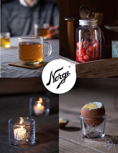 Dekk bordet med vakre høstnyheter fra Norgesglasset!