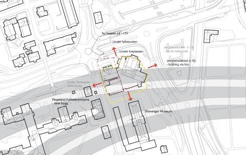 """Kan det bygges nytt teaterhus over """"rådafjell"""" og tunneler?"""