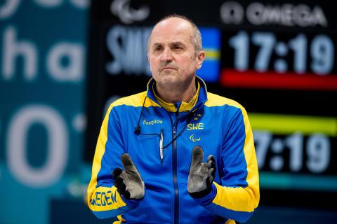 Mats-Ola Engborg på Green Cargo tävlade med svenska landslaget i Paralympics
