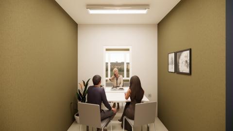 Besuchsräume für Senioren- und Pflegeheime ermöglichen direkte Begegnungen zwischen Bewohnern und ihren Angehörigen