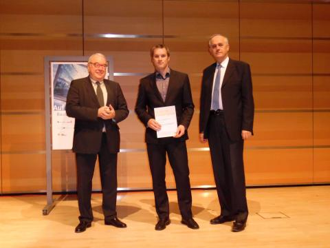 """Wettbewerb """"Auf IT gebaut 2015"""" – Züblin hat erstmals Sonderpreis vergeben"""