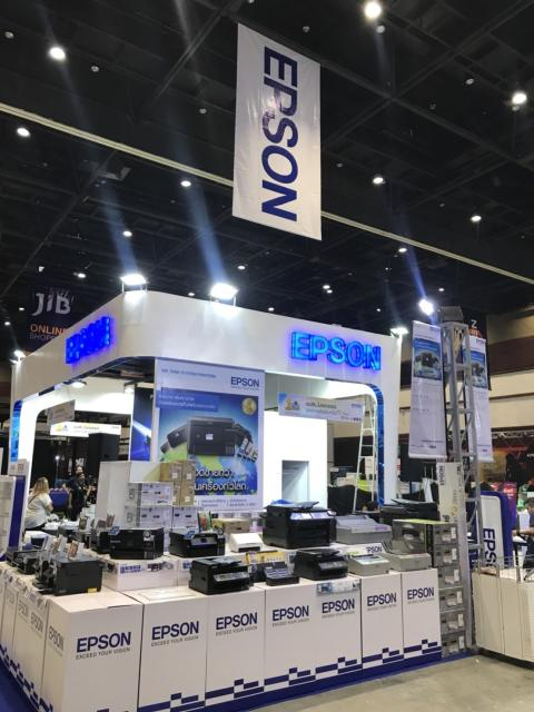 Epson in Commart Connect 2018