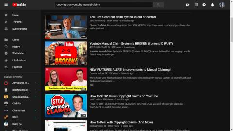 YouTube makes changes to copyright infringement system