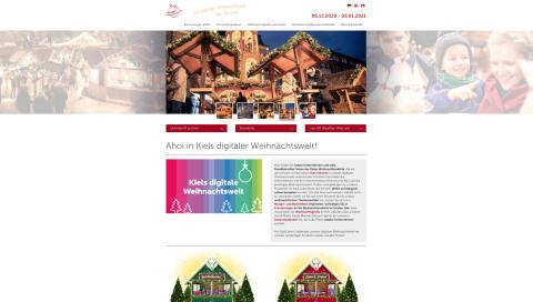 Kiels digitale Weihnachtswelt
