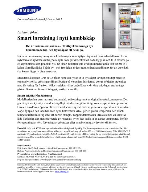 Insidan i fokus: Smart inredning i nytt kombiskåp