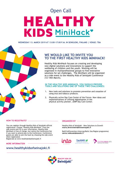 Healthy Kids MiniHack Program