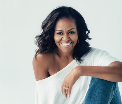 Michelle Obama gäst i Studio DN