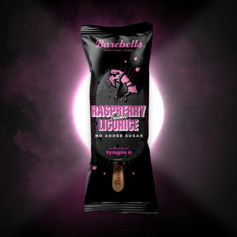 Raspberry Licorice Ice Cream Stick