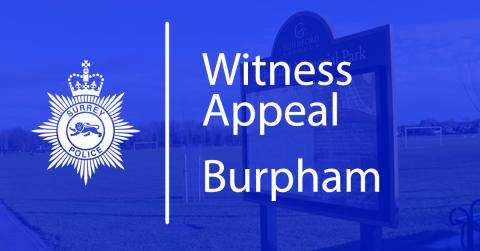 Witness Appeal: Assault & Robbery in Sutherland Memorial Park in Burpham, Guildford