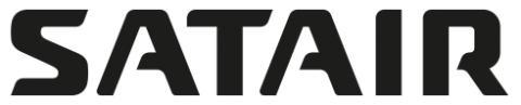 Satair Black Logo