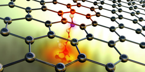 Cooling graphene-based film close to pilot-scale production