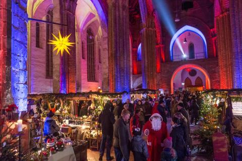 Weihnachtsmarkt St. Marienkirche Frankfurt/Oder