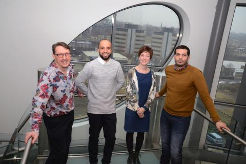 Creative trio join Northumbria for Fuse project