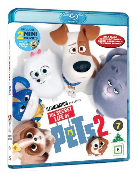 THE SECRET LIFE OF PETS 2, Blu-ray