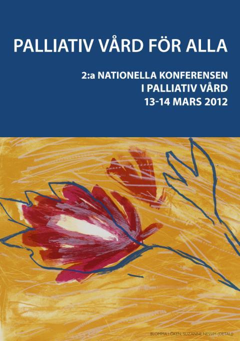 Program - 2:a nationella konferensen i palliativ vård