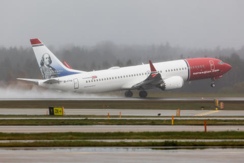 Norwegian's 737 MAX