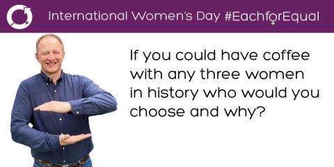 Executive Committee on International Women's Day: Ian Thomas