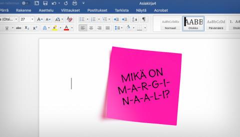"""Monityöurabloggaaja Mira: """"Mikä on marginaali?"""""""