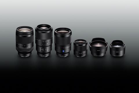 Sony stellt neue Vollformat-Objektive und Konverter für Alpha Kameras vor