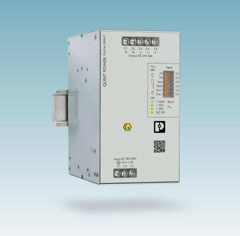 Strømforsyning med SIL certificering