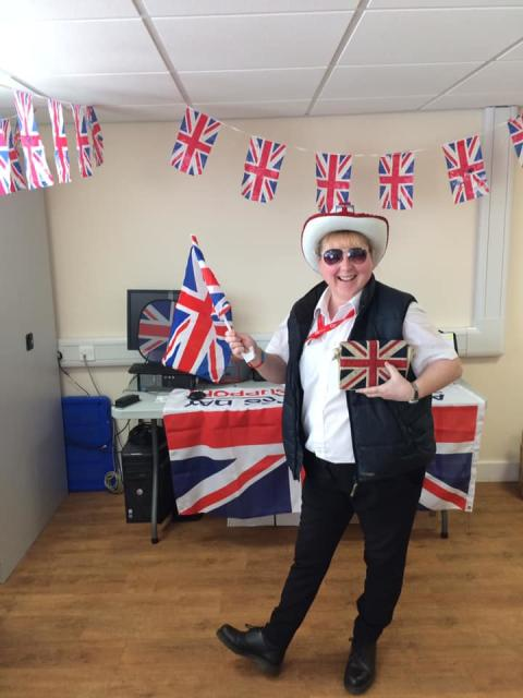 Go North East team members have already started their preparations for VE Day