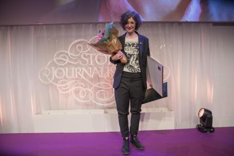 Jenny Svenberg Bunnel, vinnare av Årets Förnyare
