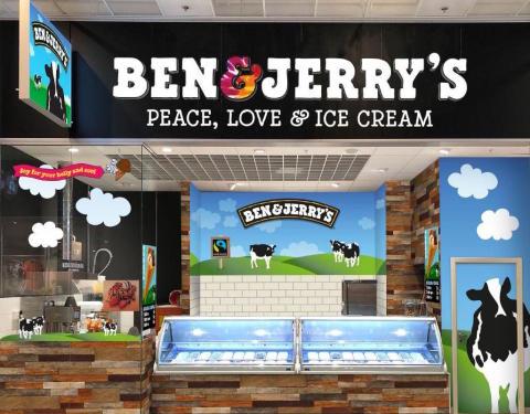 Goda nyheter – Ben & Jerry's flyttar in på Väla