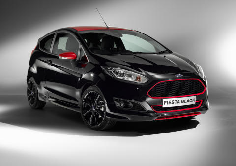 Fiesta Black Edition med 140 HK