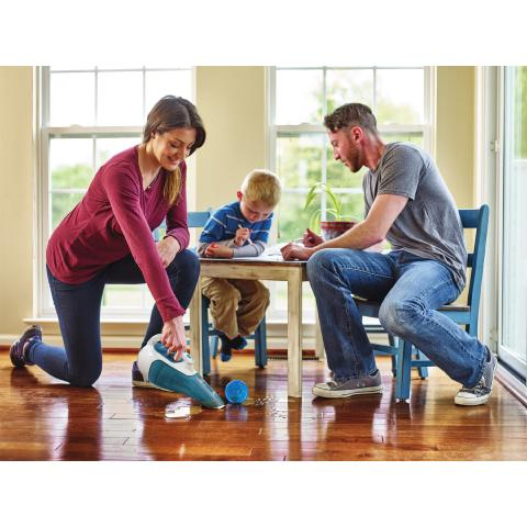 BLACK+DECKER™ Introduces New Lithium Ion Wet/Dry Hand Vacuums