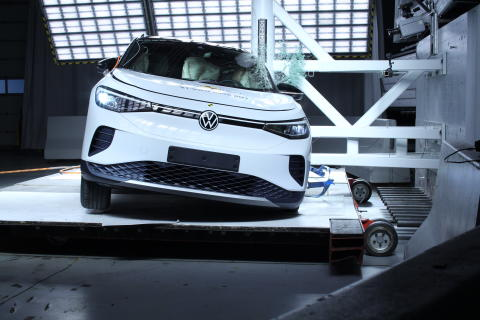 Latest Volkswagen Group EVs power to five-star safety ratings