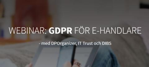 Webinar: GDPR för e-handlare